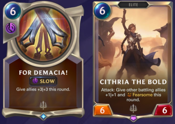 Demacia - For Demacia! and Cithria the Bold