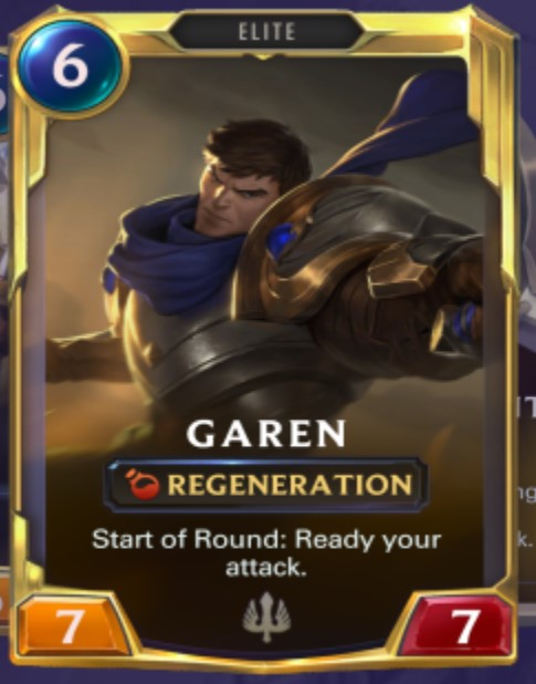Demacia - Garen Leveled Up