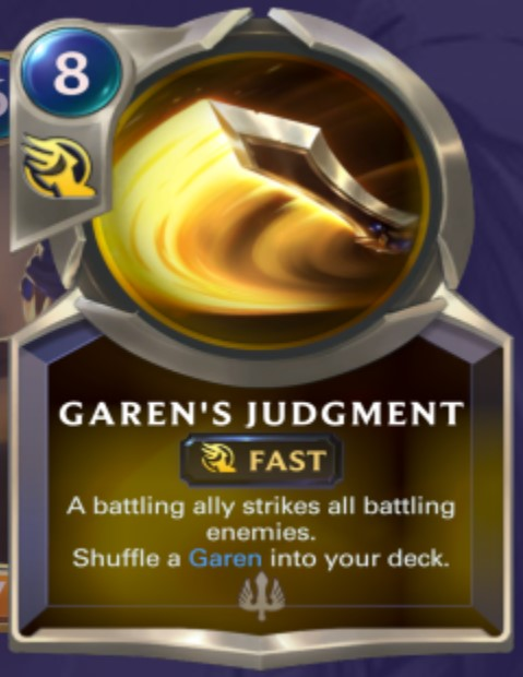 Demacia - Garen's Judgement (champion spell)