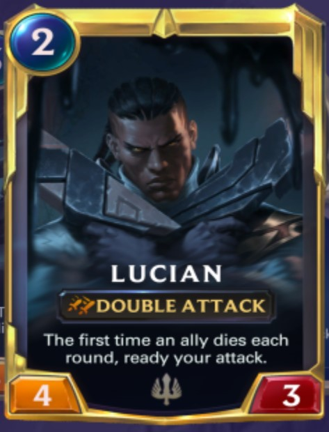 Demacia - Lucian Leveled Up