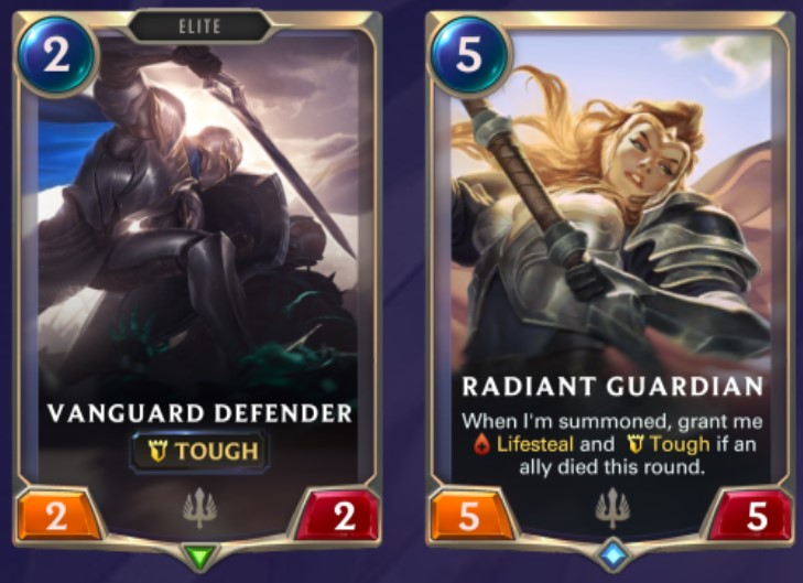 Demacia - Vanguard Defender and Radiant Guardian