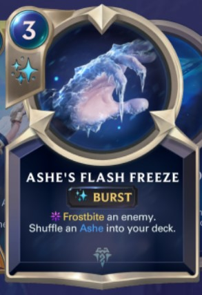 Freljord - Ashe's Flash Freeze