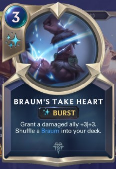 Freljord - Braum's Take Heart (champion spell)