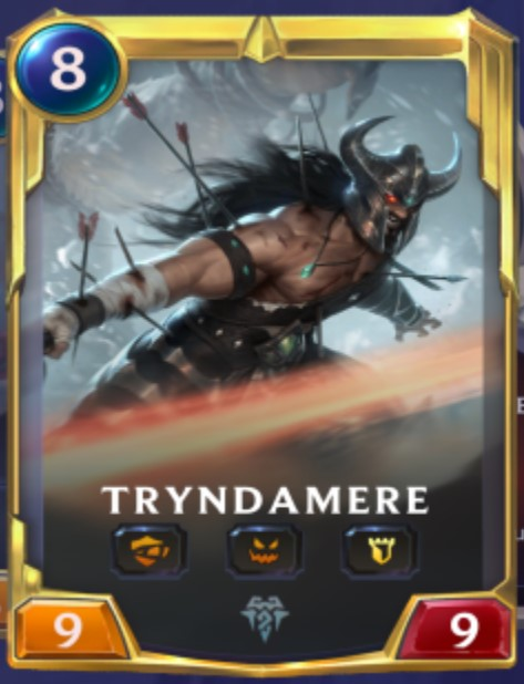 Freljord - Tryndamere Leveled Up