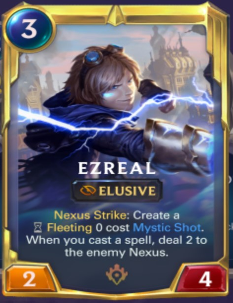 Ionia - Ezreal Leveled Up