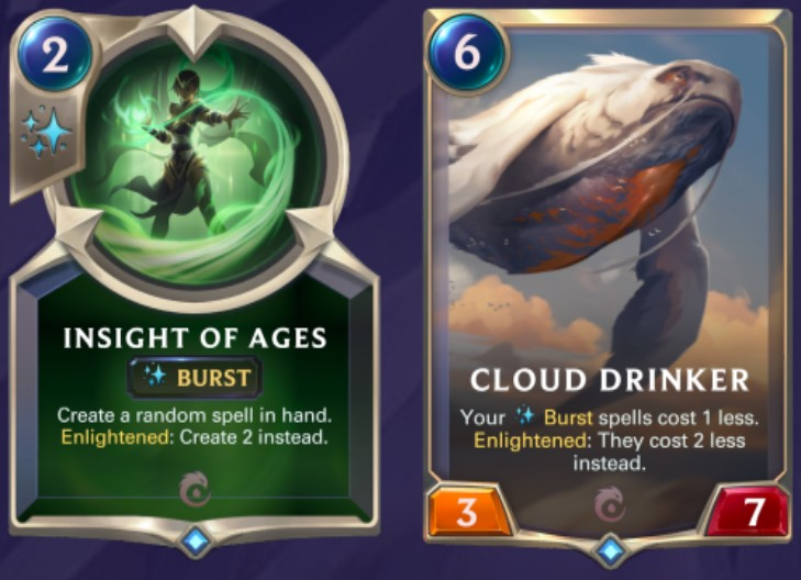 Ionia - Insight of Ages and Cloud Drinker