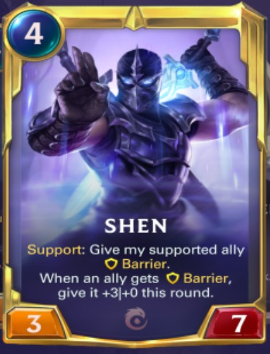 Ionia - Shen Leveled Up