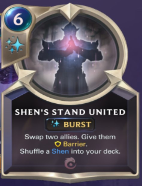 Ionia - Shen's Stand United (champion spell)