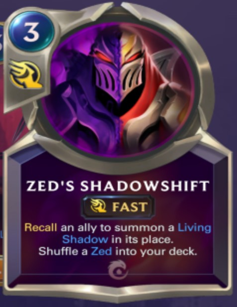 Ionia - Zed's Shadowshift (champion spell)