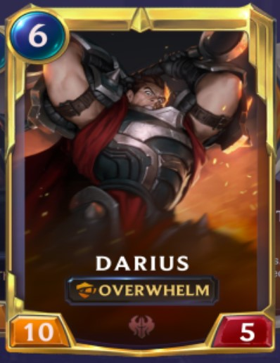 Noxus - Darius Leveled Up