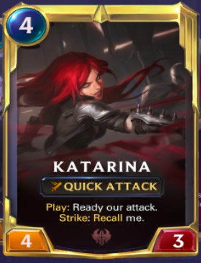 Noxus - Katarina Leveled Up