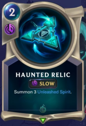 Shadow Isles - Haunted Relic