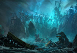 Shadow Isles splash