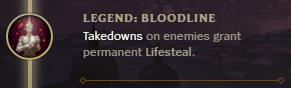 Legend: Bloodline