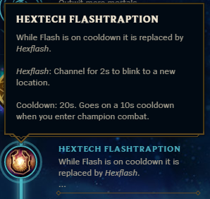 Hextech Flashtraption