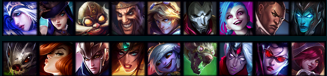 Typical ADC pool