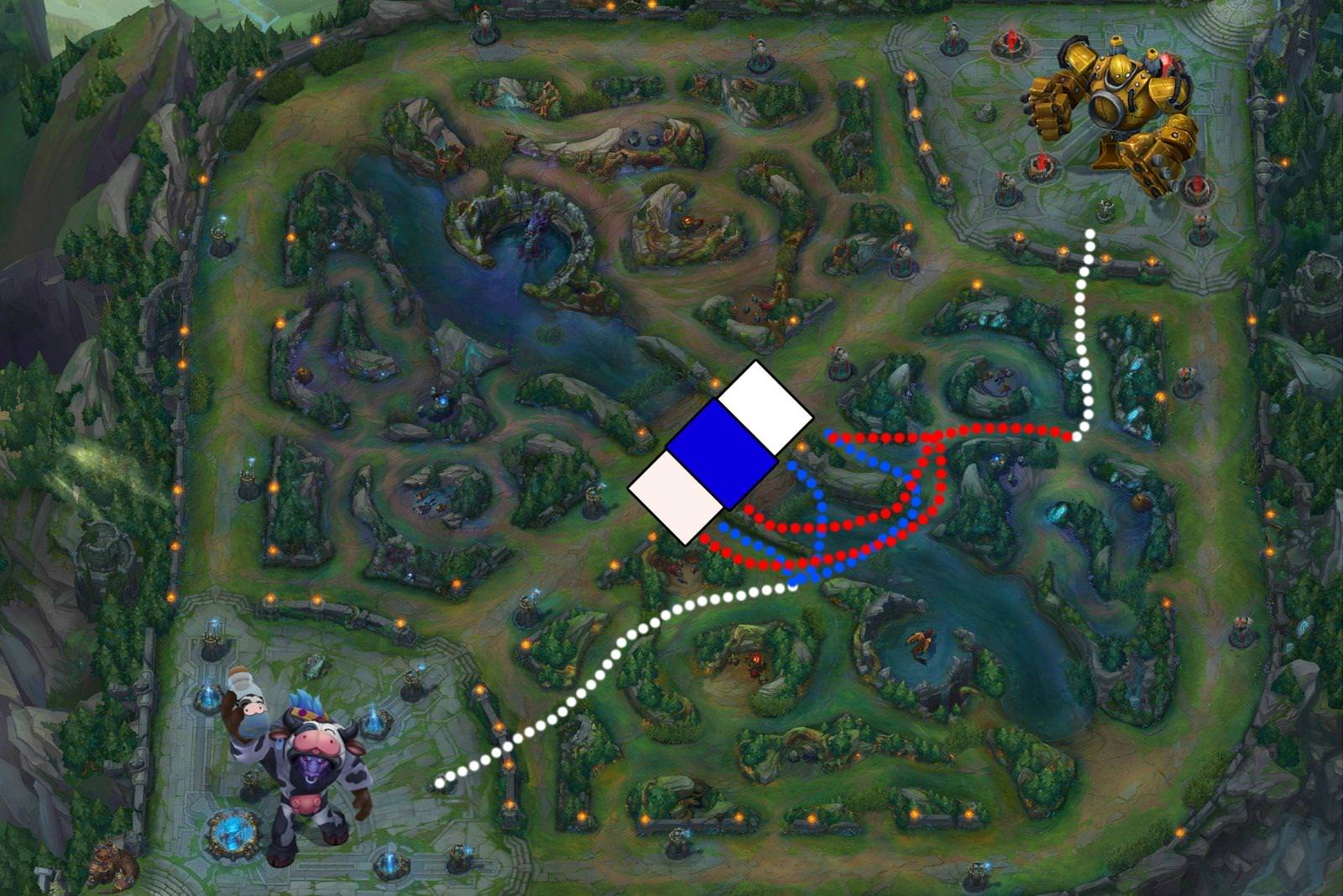 How to Roam as a Support in League of Legends - Mobalytics