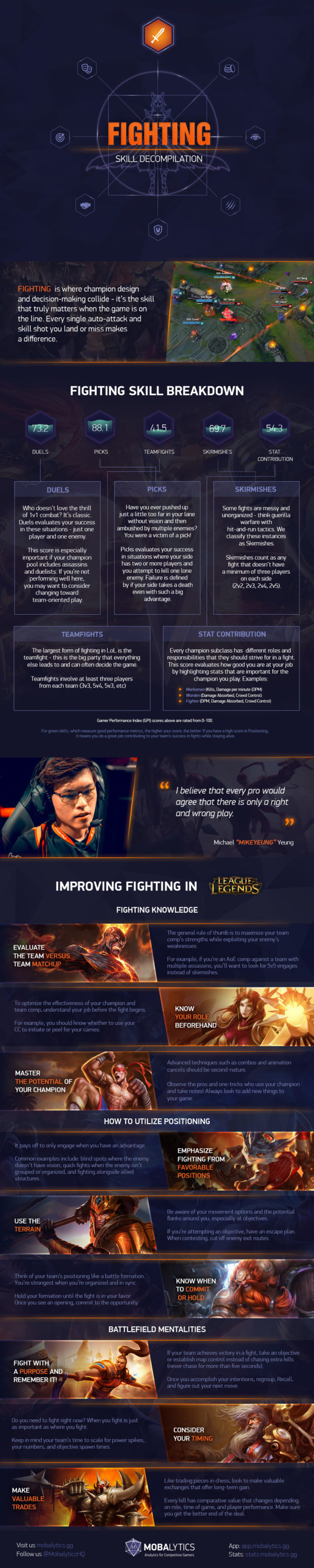 Fighting Skill Decompilation Infographic