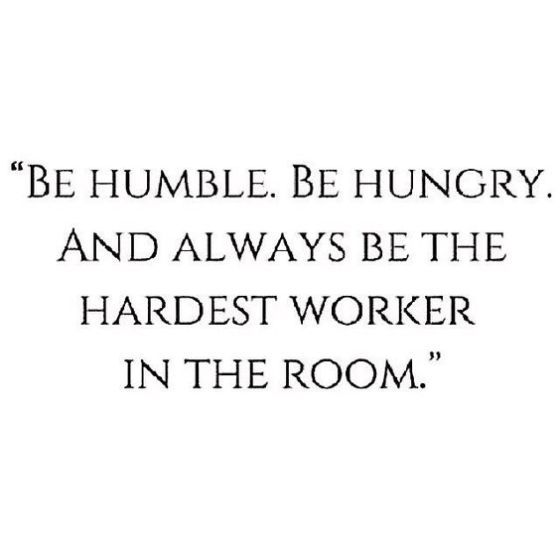 Humble quote