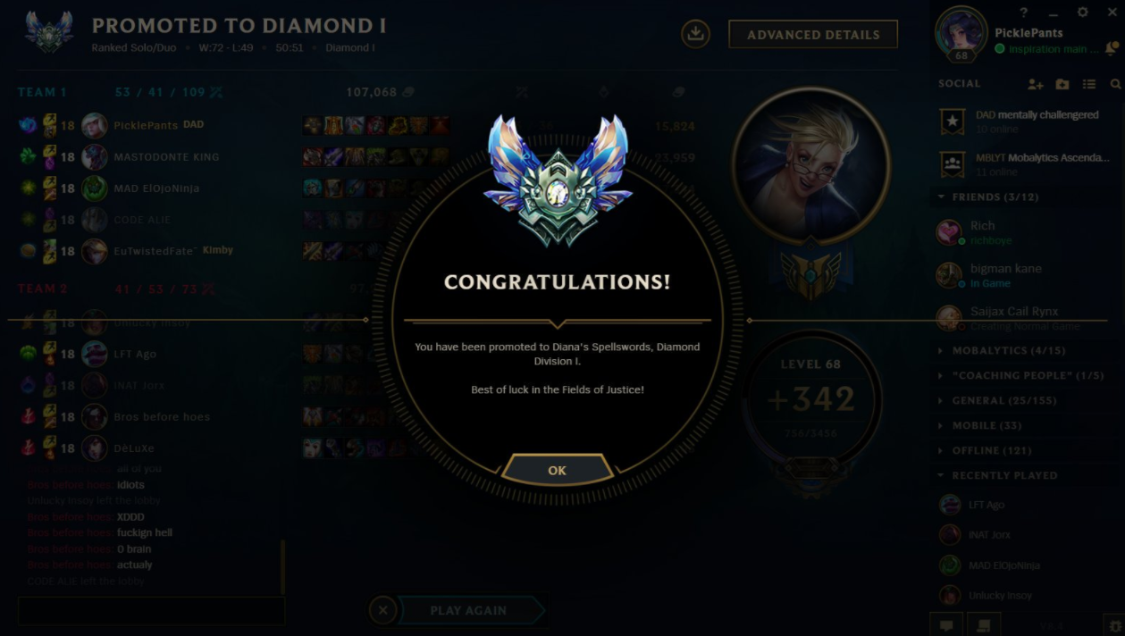 6 Things I Learned Demoting from Diamond 1 to Diamond 4 in a Month