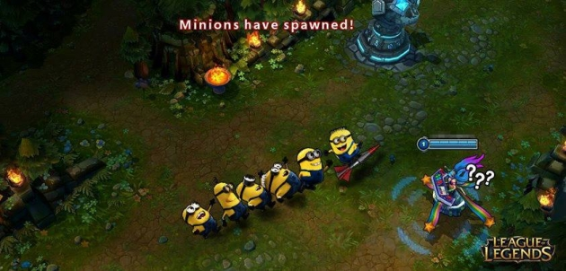 minions have spawned