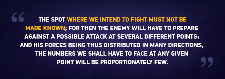 Art of War Vision quote