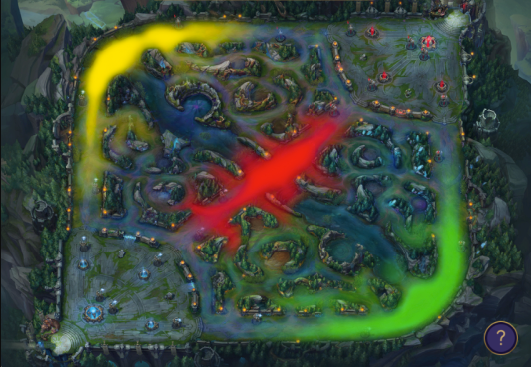Jungle pathing image