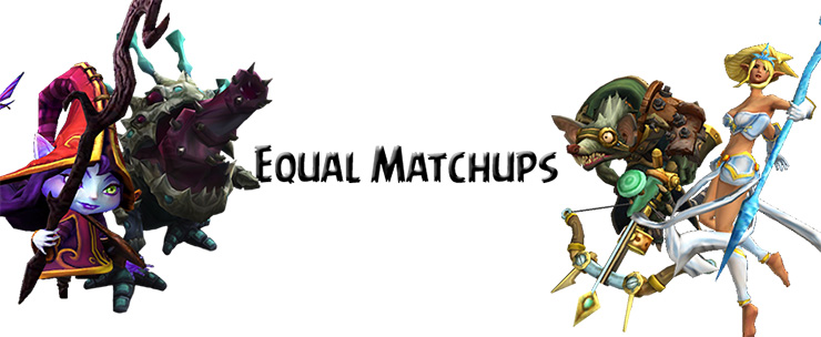 Equal matchups