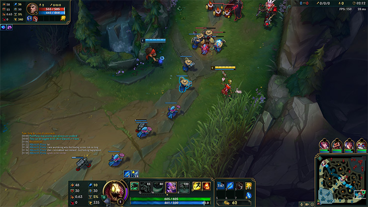 Fiddlesticks positioning