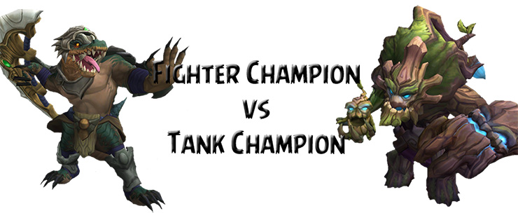 Fighter vs Tank