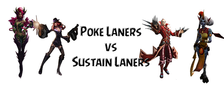 Poke vs sustain