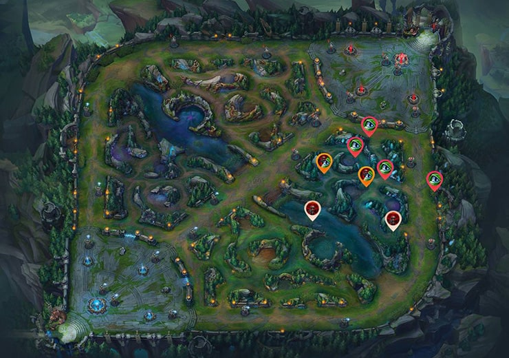 Warding as Blue Bot lane