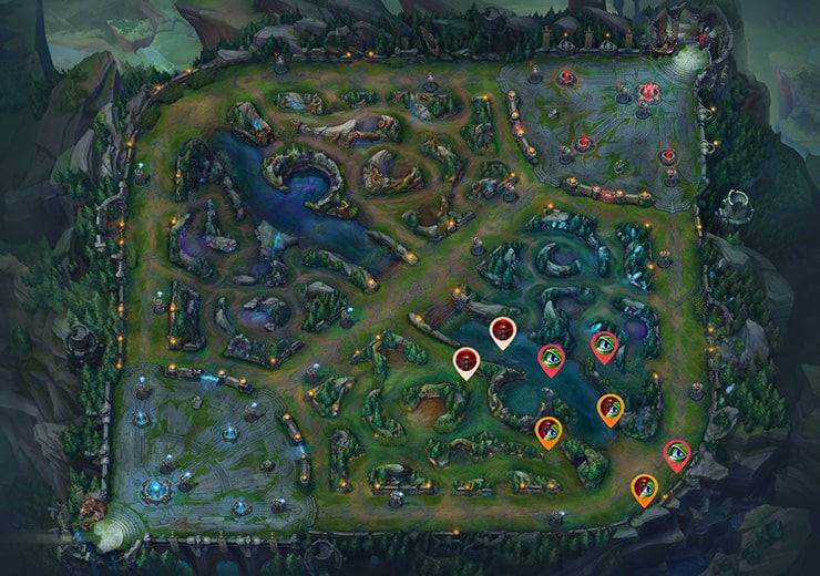 bot lane warding guide