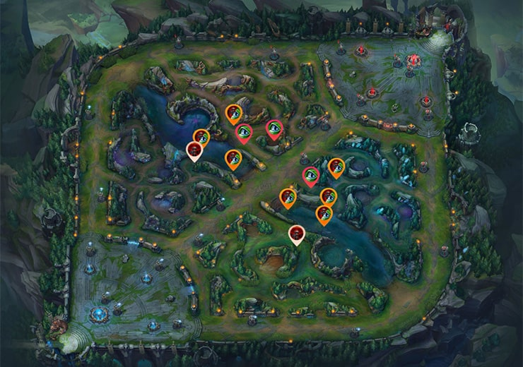 lol warding blue mid even