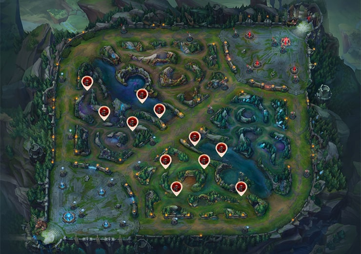 Blue team Control Wards