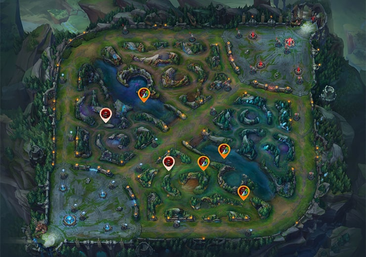 Protecting your jungle as blue team