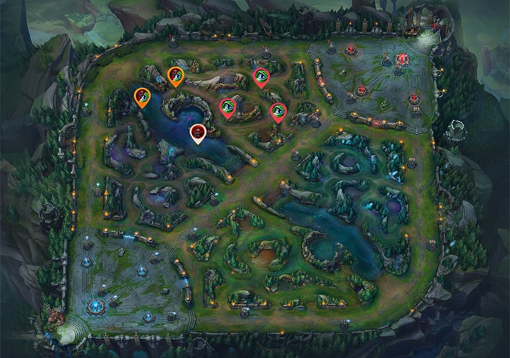 Warding guide Blue top ahead