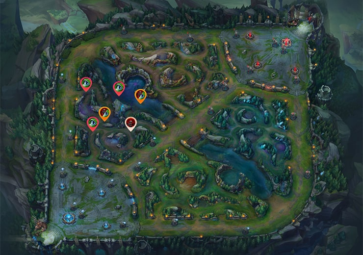 Warding as Blue Top laner