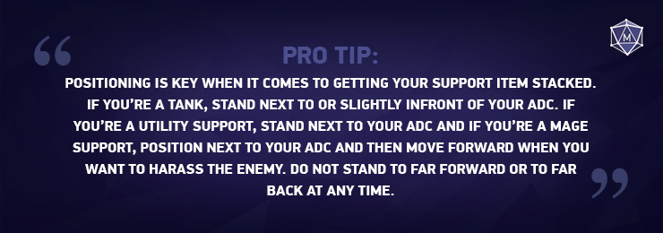 Pro tip: Support item stack