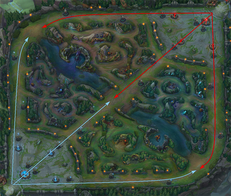 Summoner's Rift map