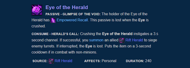 Eye of the Herald