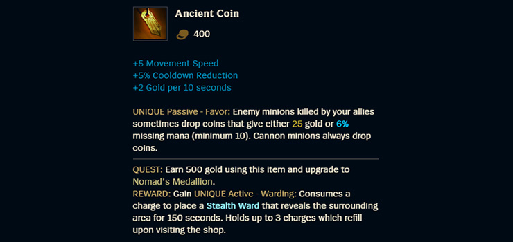 League of Legends Items Guide: Supports - Mobalytics