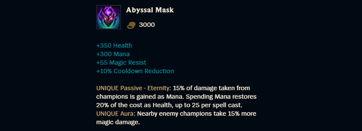 Complete Abyssal Mask