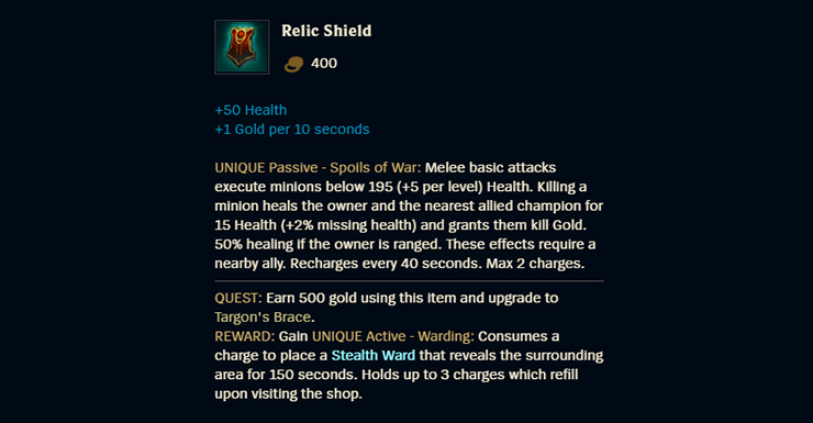Relic Shield