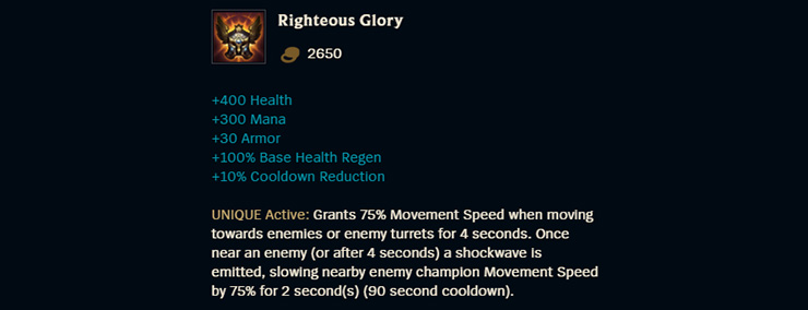 Righteous Glory