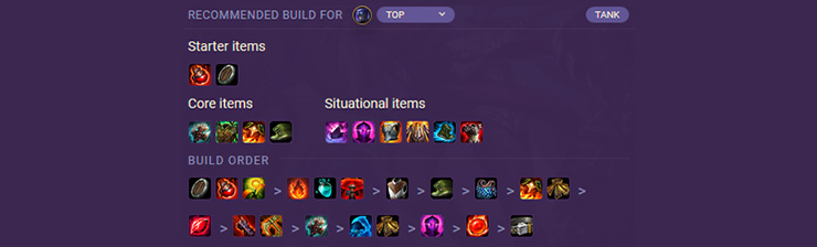 League of Legends Items Guide: Tanks - Mobalytics
