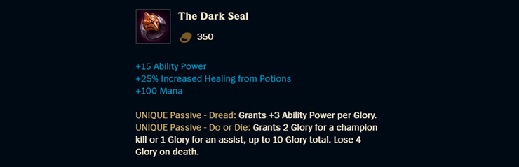 The Dark Seal