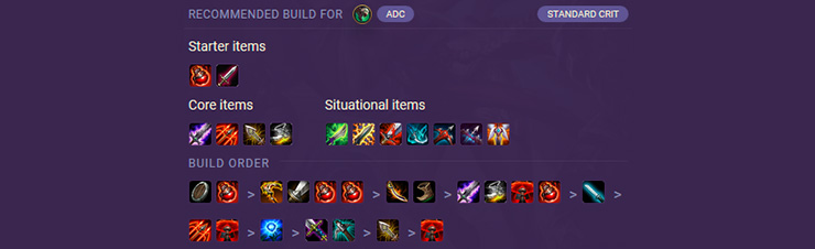 League of Legends Items Guide: ADC (Marksmen) - Mobalytics