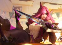 Katarina Battle Academia splash