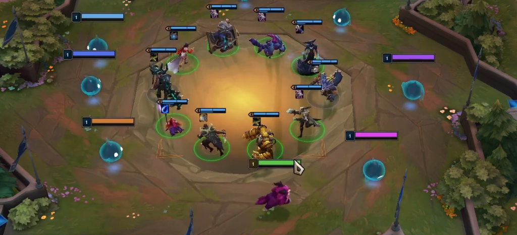TFT first carousel
